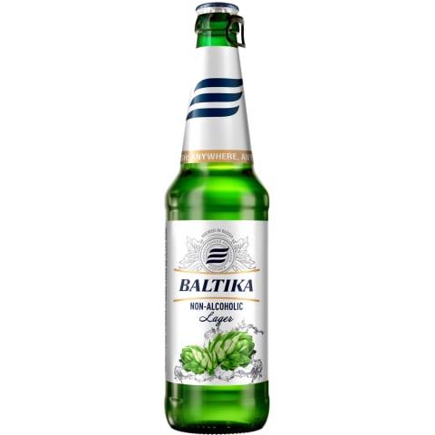 Alus Baltika Nr.0 bezalkoholisks 0,5% 0,47l