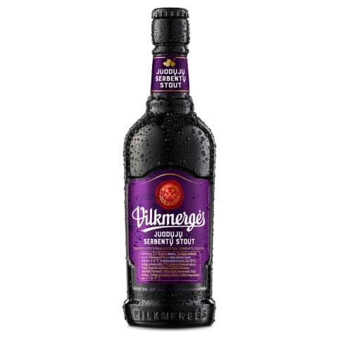 VILKMERGĖS al.JUOD.SERB.STOUT, 5,5 %, 0,41 l
