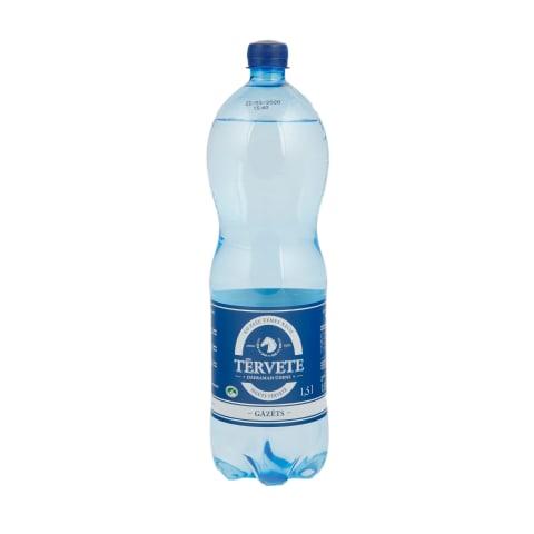 Dzeramais ūdens Tērvete gāzēts 1,5l