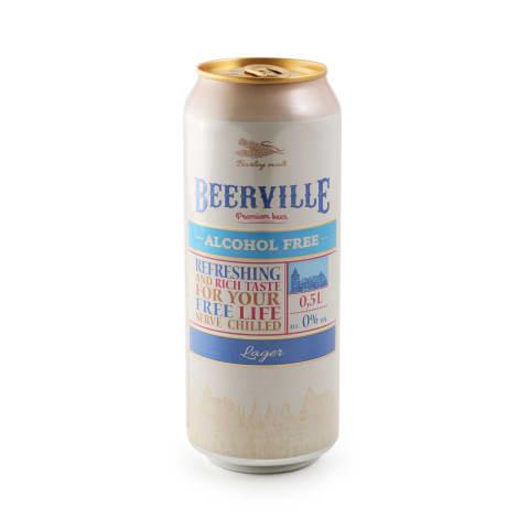 Bezalkoholiskais alus Beerville bundžā 0,5l