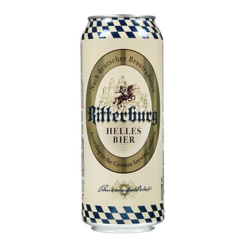 Alus RITTERBURG HELLES BIER, 5 % , 0,5 l