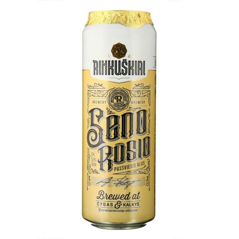 SENO RŪSIO alus, 5,4 %, 0,568 l