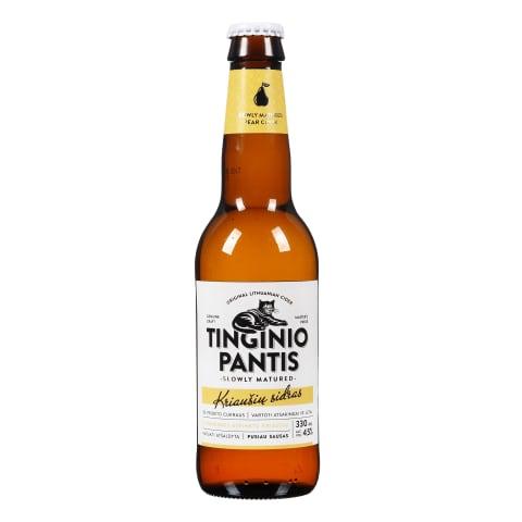 Kr.sk.sidras TINGINIO PANTIS, 4,5 %, 0,33 l