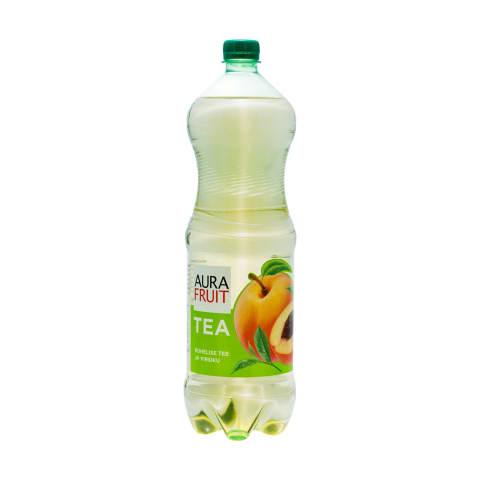 Aura Fruit Tea rohelise tee-virsiku 1,5l