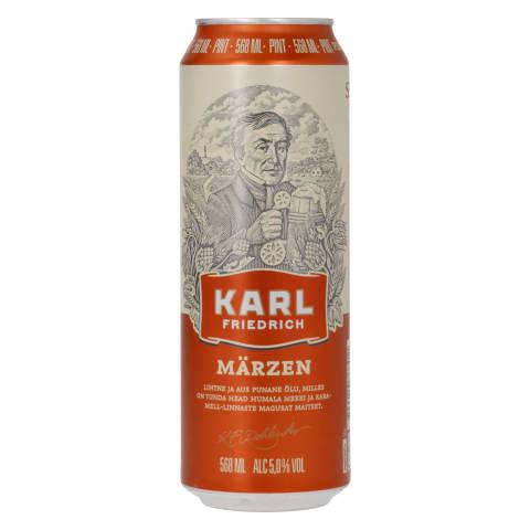 Õlu Karl Friedrich Märzen 5,0%vol 0,568l