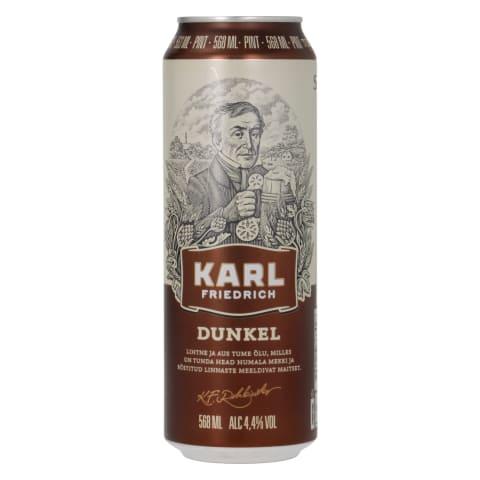 Õlu Karl Friedrich Dunkel 4,4%vol 0,568l