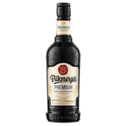 Nealkoholinis alus Vilkmergės, 0,41 l