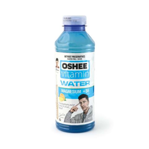 Ūdens Oshee vitaminizēts magn. + B6 0,555l