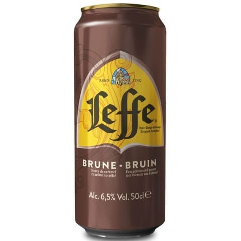 Alus LEFFE BRUNE, 6,5 %, 0,5 l