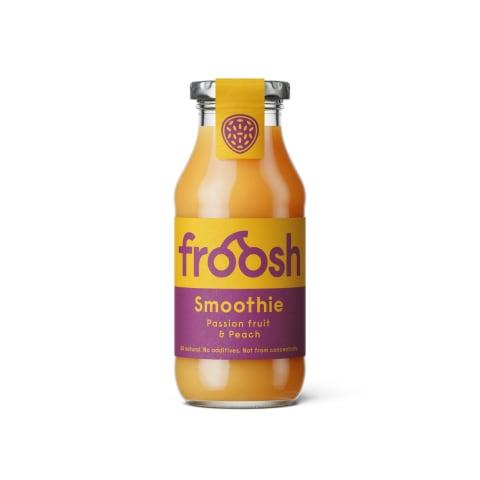 Persikų vaisių kokteilis FROOSH, 250 ml