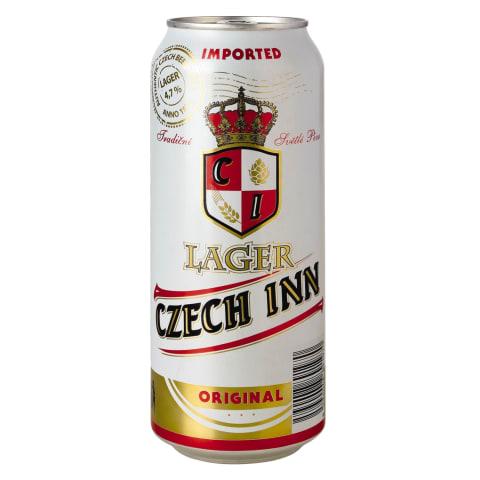 Alus CZECH INN PREM.LAGER, 4,7 %, 0,5 l sk.