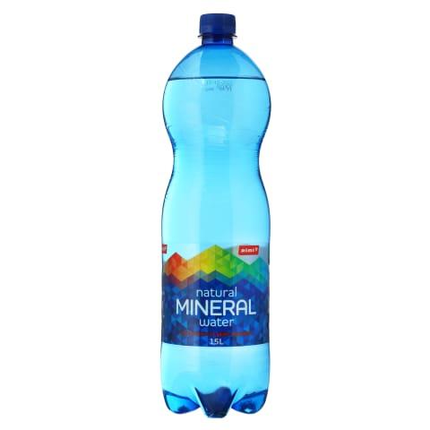 Natūralus gazuot.mineral. vanduo RIMI, 1,5l