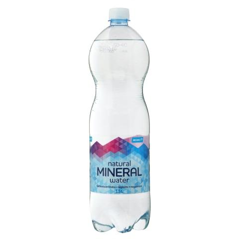 Natūral.negaz. mineralinis vanduo RIMI, 1,5l