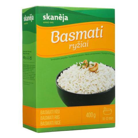 Basmati ryžiai SKANĖJA, 400g