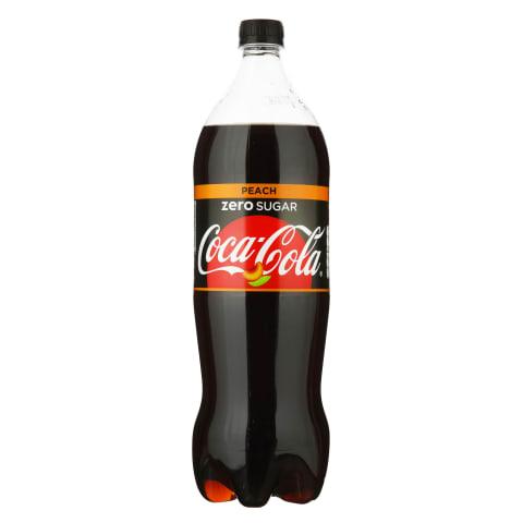 Gāzēts dzēriens Coca-Cola Zero Peach 1,5l