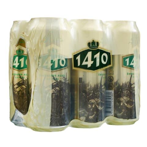 Šviesusis alus 1410, 5 %, 6 X 0,5 l sk.