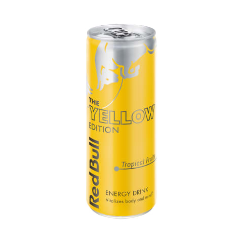Energ. gėrimas RED BULL YELLOW EDITION, 250ml