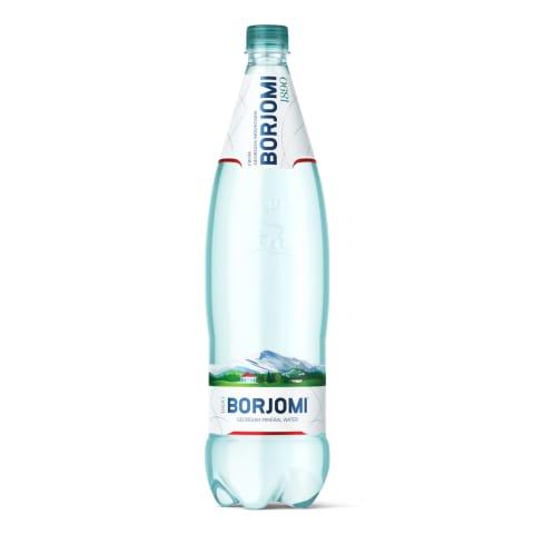 Minerālūdens Borjomi dabīgais, gāzēts 1,25l