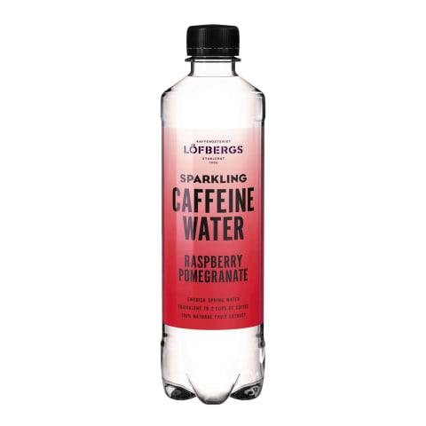 Ūdens kofeina aveņu granātābolu 0,5l