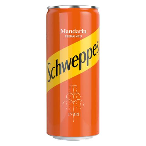 Gāzēts dzēriens Schweppes Mandarin 0,33l