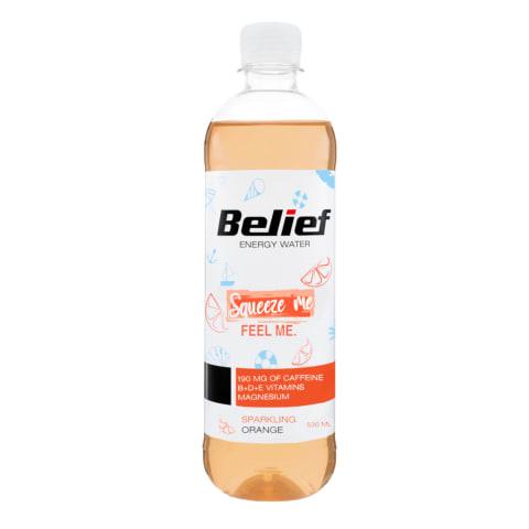 Vitamiinivesi Belief apelsini-sidruni 0,53l
