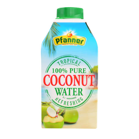 Kookosvesi Pfanner 0,5l