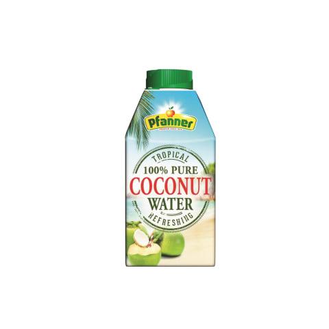 Negāzēts ūdens Pfanner kokosriekstu 0,5l