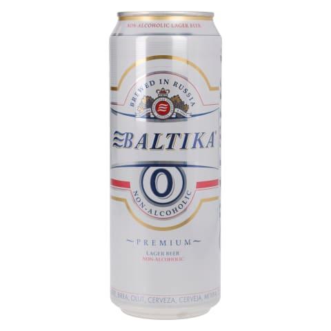 Alkoholivaba õlu Baltika 0,45l