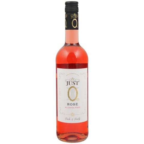 Nealkoholinis rožinis vyn. JUST 0, 0,75l