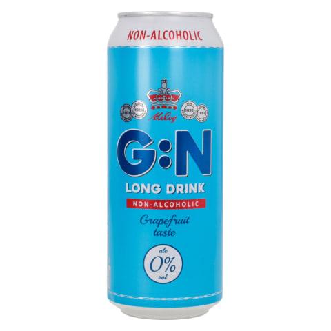 Alkoholivaba G:N Grapefruit 0,5l purk