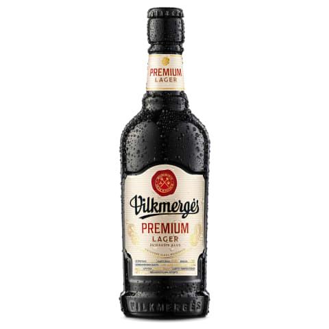 Alus VILKMERGĖS PREMIUM 5%, 0,41 l but.