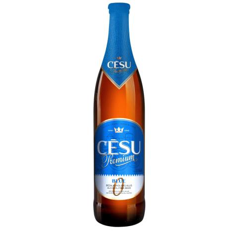 Alus Cēsu Premium Blue bezalk. 0,568l