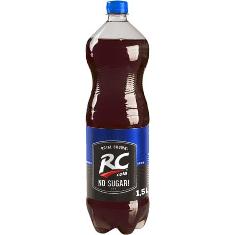Gāzēts dzēriens RC Cola No Sugar 1,5l