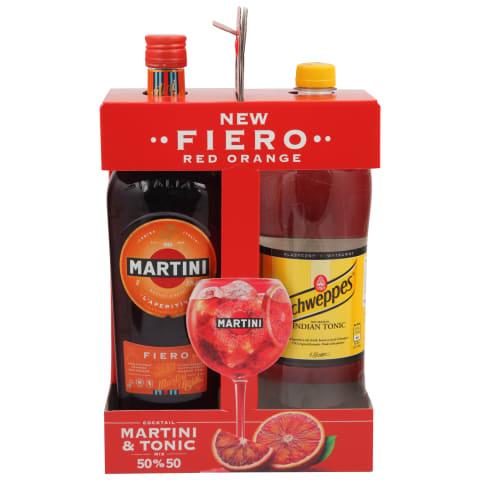 Vermuts Martini Fiero 14,9% 1l + Tonic 1,4l