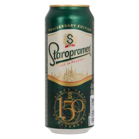 Õlu Staropramen 5%vol 0,5l purk