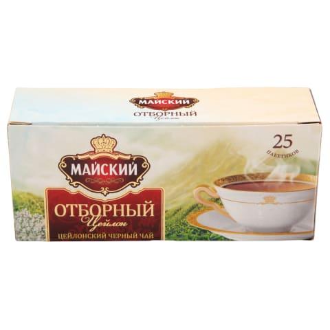 Melnā tēja Maisky Otbornij 25x2g