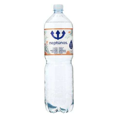 Gazuotas citrusų skonio vanduo NEPTŪNAS, 1,5l
