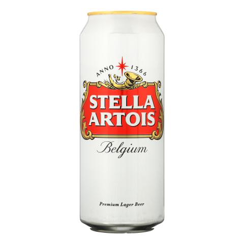 Alus STELLA ARTOIS, 5,2 %, 0,5 l