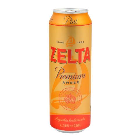 Alus Zelta Premium Amber 5% 0,568l