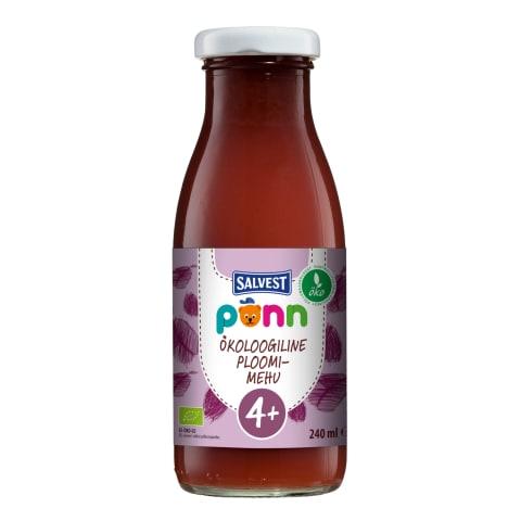 Põnn Öko Ploomimehu 240 ml (4 kuud)