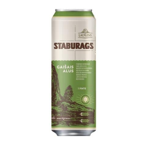 Alus Staburags Gaišais 5,2% 0,568l