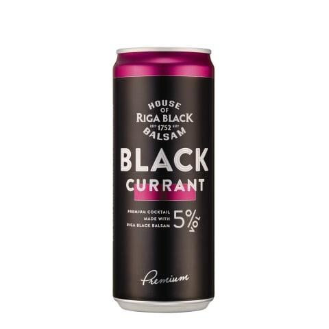Alko. kokteilis Black Balsam Currant 5% 0,33l
