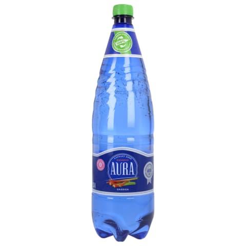 Vesi Aura Rabarberi gaasiga 1,5l