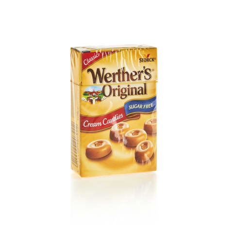 Karameles konfektes Werthner's Original 42g
