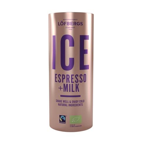 Kohvijook piimaga Ice Espresso organic 230ml