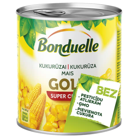 Saldieji kukurūzai BONDUELLE, 670 g