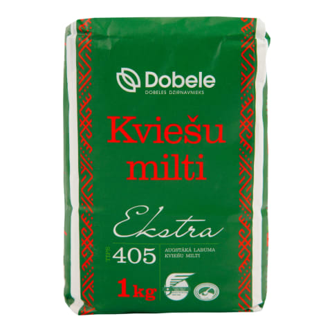 Kviešu milti Dobele ekstra 1kg