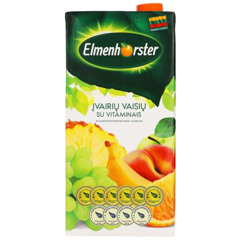 Įvair. vaisių sulčių gėrimas ELMENHORSTER, 2l