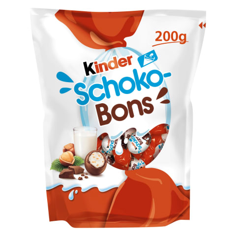 Saldainiai KINDER SCHOKO-BONS, 200g
