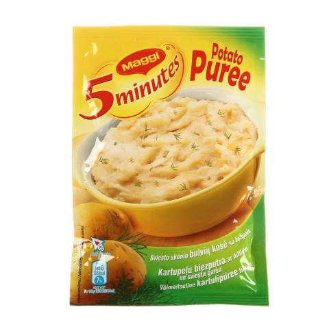 Kartupeļu biezputra Maggi 5min ar sviestu 35g